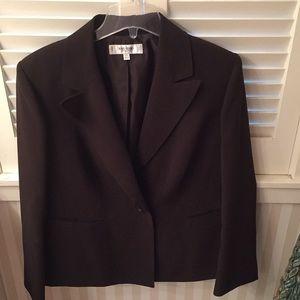 Jones New York Studio Separates brown blazer
